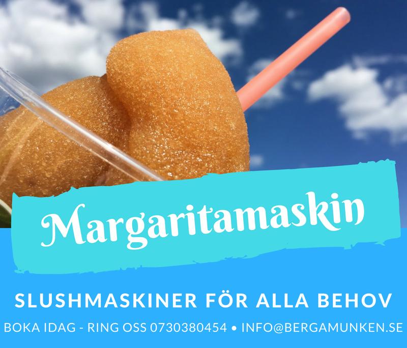 Margaritamaskin granita och frysta slush drinkar